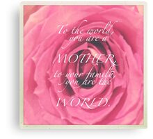 CELEBRATION OF LIFE - Mother's Day Canvas Print