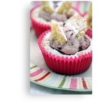 Butterfly Cakes Canvas Print