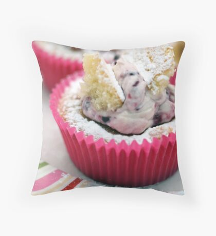 Butterfly Cakes Throw Pillow