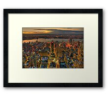 Midtown West Framed Print
