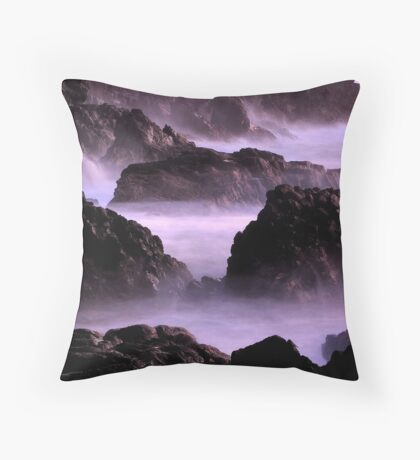 Savage Shores Throw Pillow