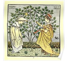 The Baby's Opera - A Book of Old Rhymes With New Dresses - by Walter Crane - 1900-49 I Had A Little Nut Tree Plate Poster