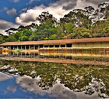 The Boatshed - Audley Royal National Park - The HDR Experience by Philip Johnson