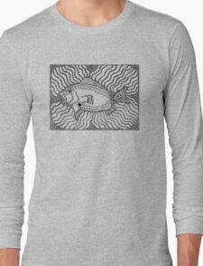 Aarl - fish / Back in black Long Sleeve T-Shirt