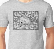 Aarl - fish / Back in black Unisex T-Shirt