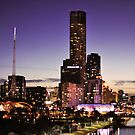 Melbourne Night Sky by Alvin Wong