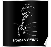 """""""HUMAN BEING COMPOSITION"""" DESIGN Poster"""