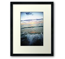 Waves Of Terror Framed Print