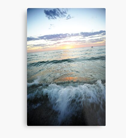 Waves Of Terror Metal Print