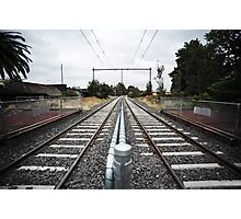 Train Tracks Photographic Print