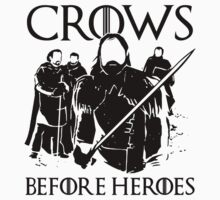 Crows Before Hoes by IchaFazari