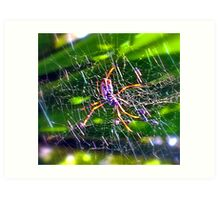 Oh What A Tangled Web We Weave! Art Print