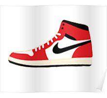 Air Jordan Retro 1 Poster