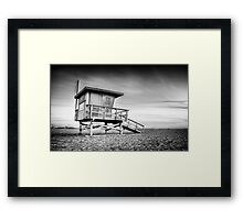 Santa Monica Sunset #5  Framed Print