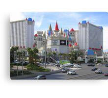 Beautiful Hotels in Vegas Canvas Print