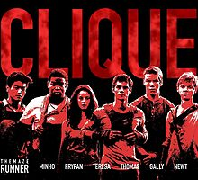 Maze Runner Clique  by wecallthemblade