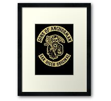 Sons of Anchorman Framed Print