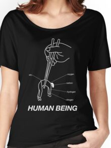 """HUMAN BEING COMPOSITION"" DESIGN Women's Relaxed Fit T-Shirt"