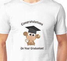Congratulations on your Graduation Monkey Unisex T-Shirt