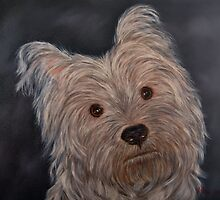 """""""Portrait of Boetie"""" - Oil Painting by Avril Brand"""