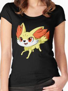 Pokemon Fennekin Women's Fitted Scoop T-Shirt