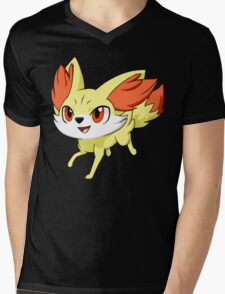 Pokemon Fennekin Mens V-Neck T-Shirt