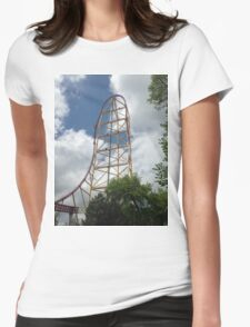 Top Thrill Dragster - Cedar Point Womens Fitted T-Shirt