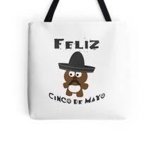 Cinco De Mayo Bear Tote Bag