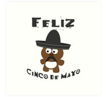 Cinco De Mayo Bear Art Print