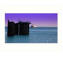 Ferry Crossing ~ Port Townsend, Washington ~ Art Print