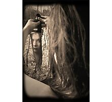 self inflicted Photographic Print