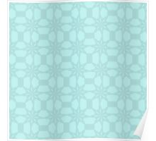 Tracery of Snow Flakes Poster