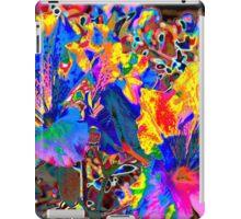 Flower Fireworks iPad Case/Skin