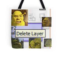 Delete Layer Tote Bag