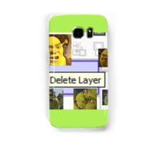 Delete Layer Samsung Galaxy Case/Skin