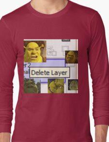 Delete Layer Long Sleeve T-Shirt