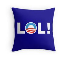 So Much For Hope & Change Throw Pillow