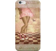 Pink Girl  iPhone Case/Skin
