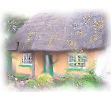 Irish Cottage Photographic Print