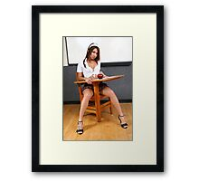Tests, I don't need no stinkin tests. Framed Print