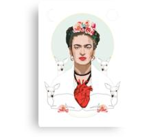 Frida (Light) Canvas Print