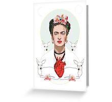 Frida (Light) Greeting Card