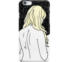 Sulking with Lisa Loeb on the Ice Planet Hoth (Blonde) iPhone Case/Skin