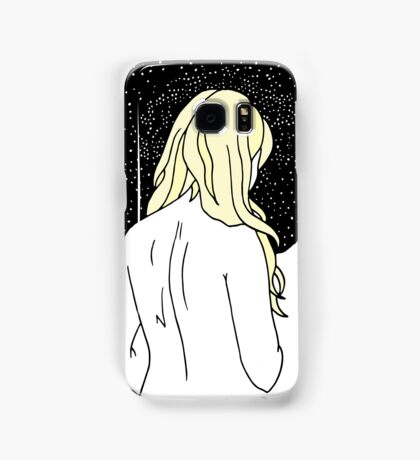 Sulking with Lisa Loeb on the Ice Planet Hoth (Blonde) Samsung Galaxy Case/Skin
