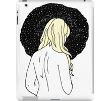 Sulking with Lisa Loeb on the Ice Planet Hoth (Blonde) iPad Case/Skin