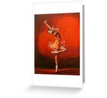 Ballet Lady Greeting Card