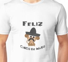 Feliz Cinco De Mayo Monkey Unisex T-Shirt