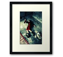 Goth Can Be Deathly Framed Print