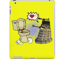 doctor who dalek love iPad Case/Skin