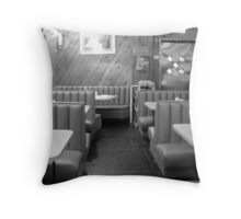 Diner at 3 am Throw Pillow